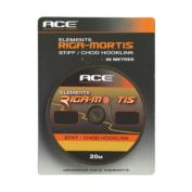 Поводковый материал ACE Riga Mortis Hooklink 25lb x 20м цв. Зел.