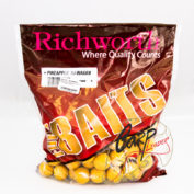 Бойлы Richworth Euroboilies 25 мм 1kg Ананас ричи