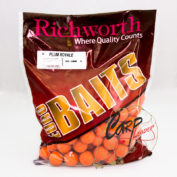 Бойлы Richworth Euroboilies 25 mm 1kg Plum Royale Королевская слива ричи