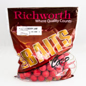 Бойлы Richworth Euroboilies 25 mm 1kg Strawberry Jam коубника ричворт