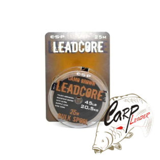 Противозакручиватель ESP Leadcore Bulk orig camo 45lb 25 m