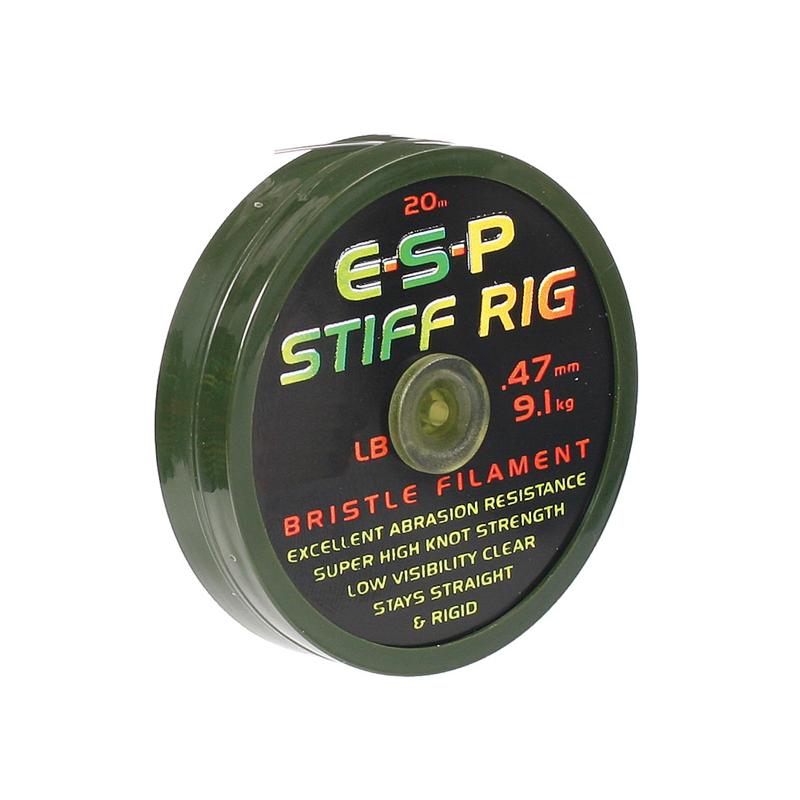 Поводковый материал ESP Stiff Rig Filament 25lb