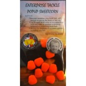 Искусственная плав. кукуруза Enterprise Tackle ET Pop-Up S/C FL Orange флюорисцентная