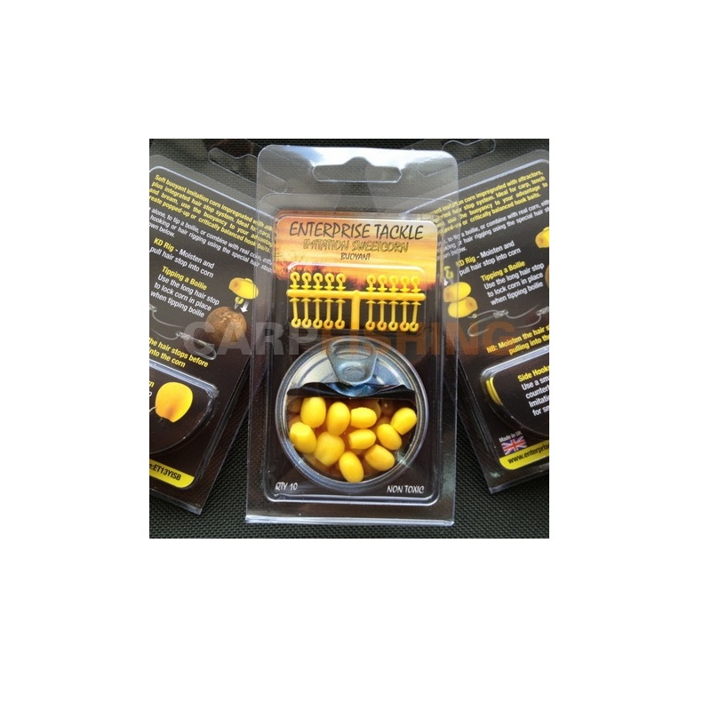 Искусственная плав. кукуруза набор Enterpris ET Super Soft Pop-Up Sweetcorn Yellow + Stops Per Pack