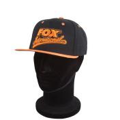 Бейсболка Fox Snap Back Caps — Orange/Black