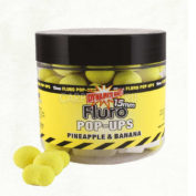 Бойлы плав. Dynamite Baits 15 мм. Pineapple & Banana Fluro