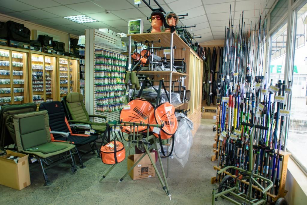 магазины рыболовных снастей товаров