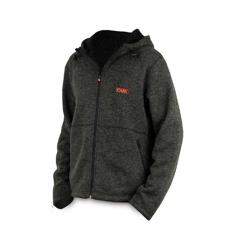 Толстовка с капюшоном на молнии Fox Chunk Heavy Sherpa Hoody — Large