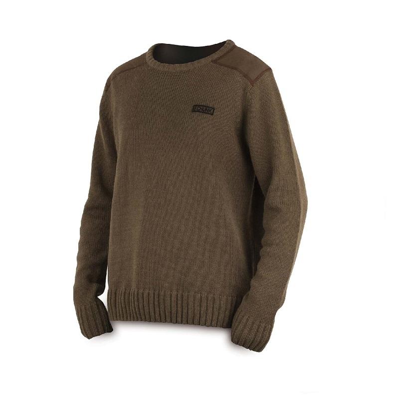Свитер Fox Chunk Heavy Knit Jumper — Large Khaki