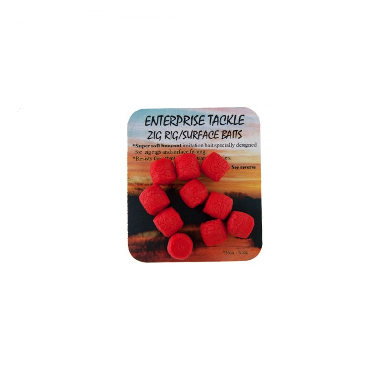 Искусственная плав. насадка Enterprise Tackle Zig Rig Surface Baits Red