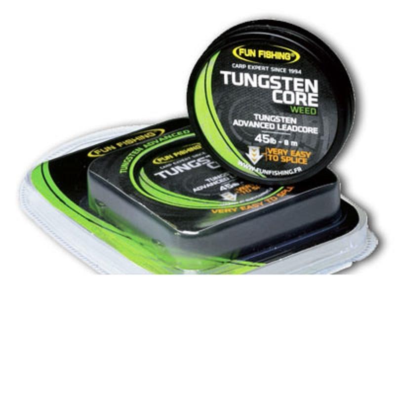 Противозакручиватель Fun Fishing Tungsten Core — 45lbs — Weed — 8m