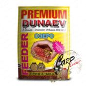 Прикормка Dunaev Premium 1 кг. Фидер Озеро Красная