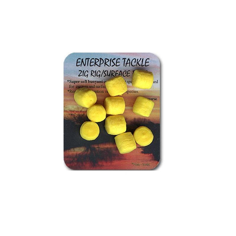 Искусственная плав. насадка Enterprise Tackle Zig Rig Surface Baits Yellow