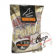 Пеллетс Minenko PMbaits Pellets Big Pack 14мм Strawberry 3 кг