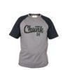 Футболка Fox Chunk T Shirt Black/Grey - l
