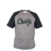 Футболка Fox Chunk T Shirt — XX Large Black/Grey