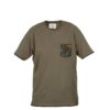 Футболка Fox Chunk T Shirt Camo Trim - xxl