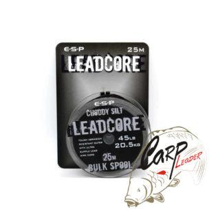 Противозакручиватель ESP Leadcore Bulk chooddy silt 45lb 25 m