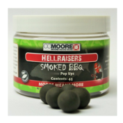 Бойлы плавающие CCMoore Smoked BBQ Hellraisers Pop Ups 14mm копченое барбекю