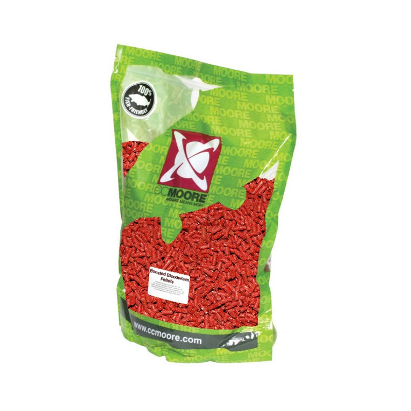 Пеллетс CCMoore Boosted Bloodworm Pellets 3kg 6mm