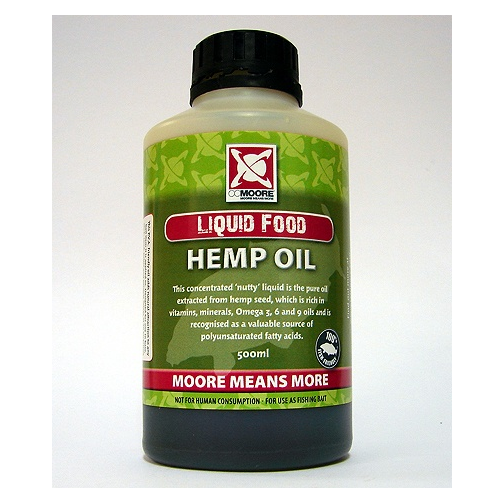 Масло CCMoore Hemp Oil 500ml конопляное