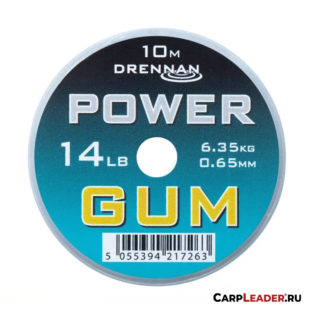 Фидерная резина Drennan Powergum 14lb Clear