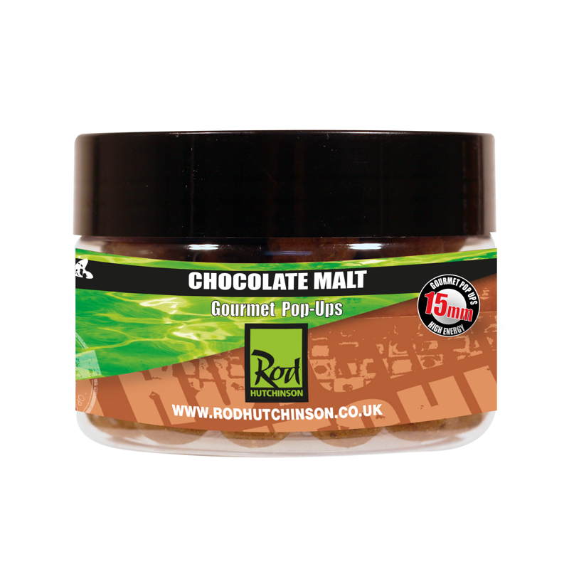 Бойлы плавающие Rod Hutchinson Chocolate Malt&Regular Sense Appeal 15mm