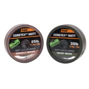 Поводковый материал в оплетке Fox Edges Coretex Matt — Gravelly Brown 35lb — 20m
