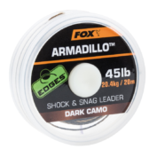 Поводковый материал Fox Edges Armadillo — Dark Camo 45lb — 20m шок лидер