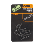 Набор вертлюжков с быстросъемом Fox Edges Kwik Change Swivel — Size 10