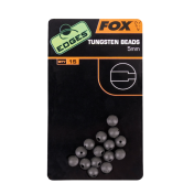 Бусинка буферная Fox Edges Tungsten Beads 5mm