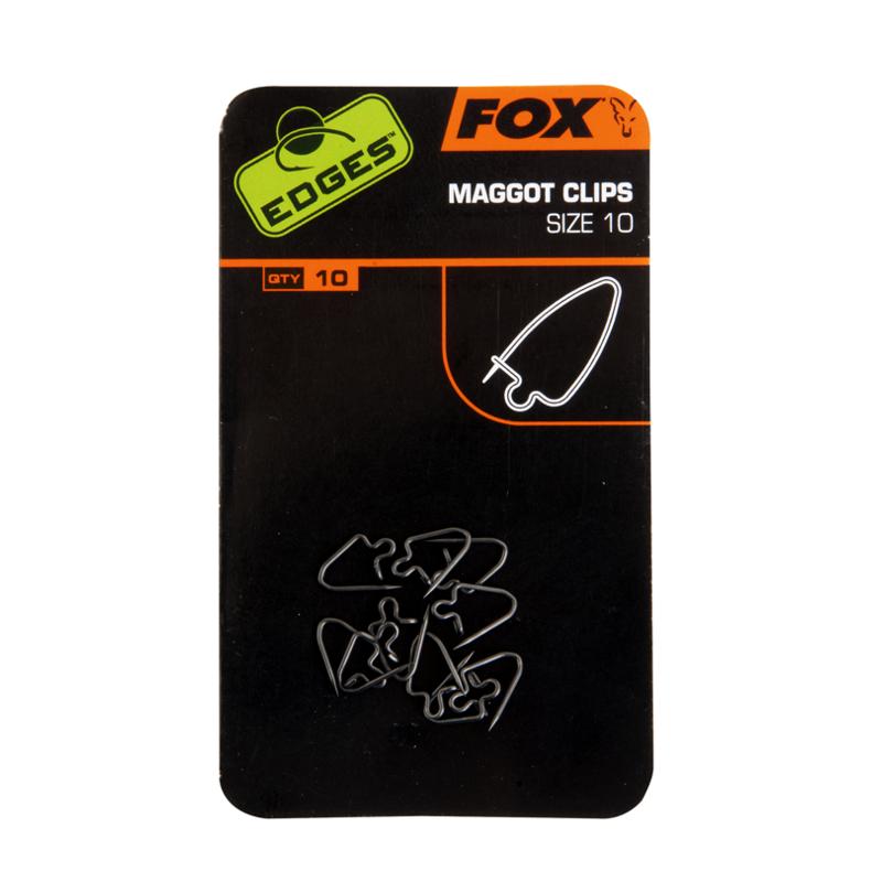 Клипса для опарыша Fox Edges Maggot Clip — Size 10