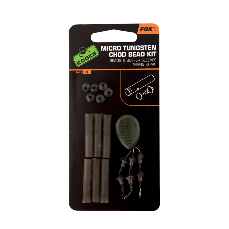 Набор аксессуаров для оснастки Fox Edges Micro Chod Bead Kit Chod Rig