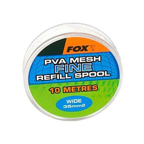 ПВА медленно растворимая сетка с плунжером Fox Wide 10m/35mm Refill Spool Heavy Mesh PVA