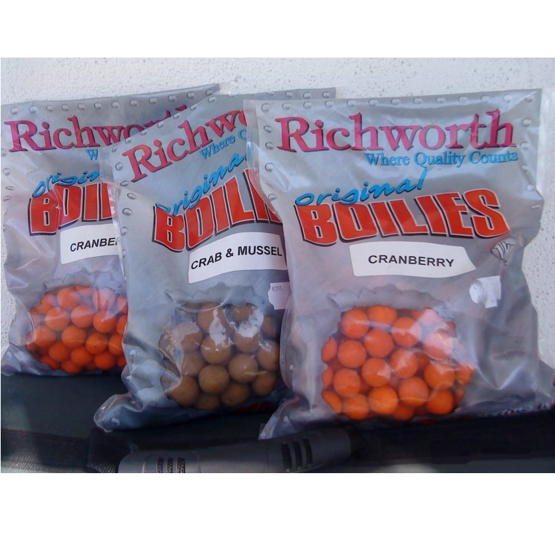 Бойлы Richworth Shelf Life 18mm 400g Scopex