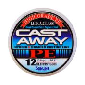 Шнур Sunline Cast Away PE 150m 1.0/0. 165мм 16LB/7.5кг