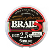 Шнур Sunline Super Braid 8 150m Orange 30lb/13.6кг
