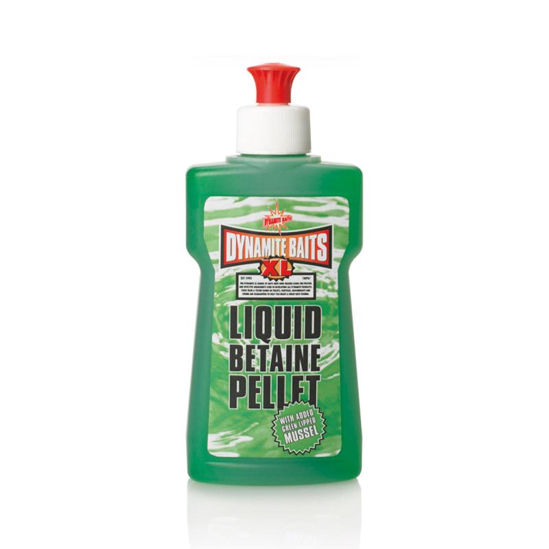 Аттрактант Dynamite Baits 250 мл XL Green Betaine Pellet