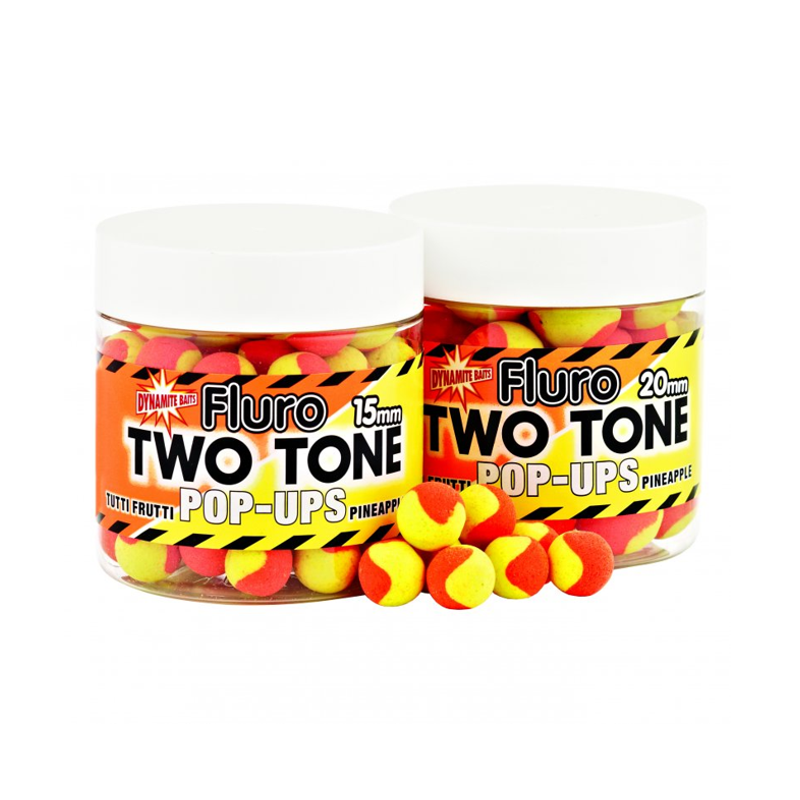 Бойлы плав.Dynamite Baits 15 мм. Tutti Frutti & Pineapple Two Tone