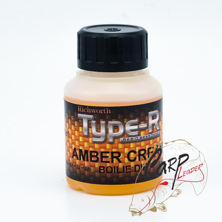 Дип Richworth Type-R Boilie Dips 130ml Amber Cream