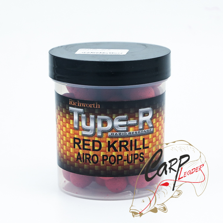 Бойлы плавающие Richworth Type-R Airo Pop-Up 14 mm Red Krill