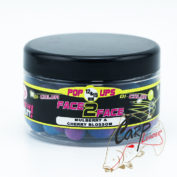 Бойлы плавающие Fun Fishing Fluo Pop Up Bicolor Malberry & Cherry Blossom 1215mm 90gr