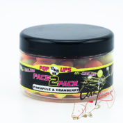 Бойлы плавающие Fun Fishing Fluo Pop Up Bicolor Pineapple & Cranberry 1215mm 90gr