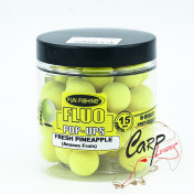 Бойлы плавающие Fun Fishing Fluo Pop Ups — jaune / Ananas Frais
