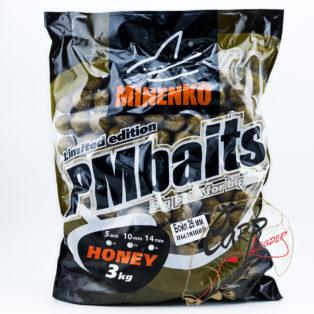 Бойлы Minenko PMbaits Big Pack Boiles Soluble Honey 26mm 3 кг.