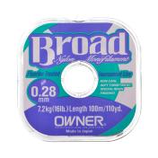Леска Owner Broad 0.33-100m