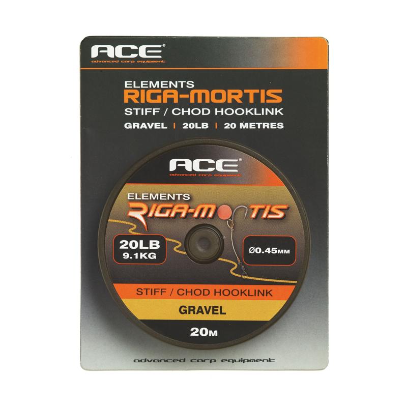 Поводковый материал ACE Riga Mortis Hooklink 20lb x 20м цв. Кор.