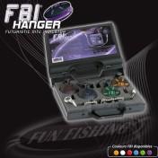 Набор механических сигнализаторов поклевки Fun Fishing Coffret 4 Hanger FBI