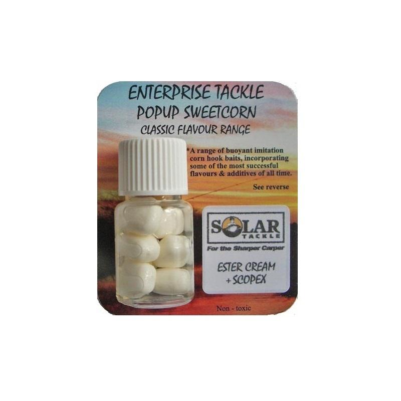 Искусственная плав. кукуруза Enterprise Tackle Classic Popup Sweetcorn Range Solar Ester Cream & Sc