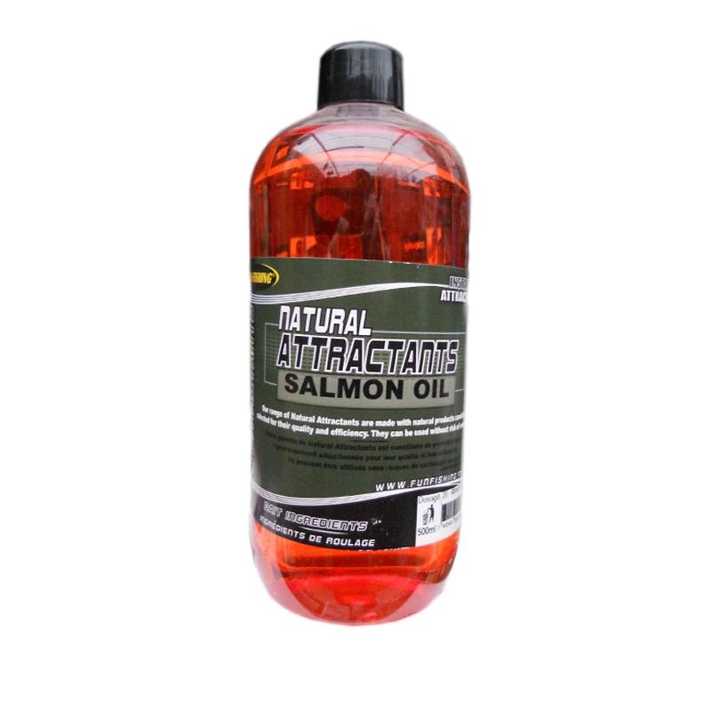 Жидкий аттрактант Fun Fishing Natural Attractant-Salmon Oil-500 ml